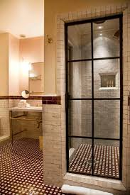 Loving this shower door, the small tile on the floor, everything.