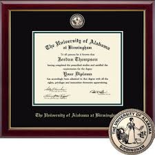 diploma frames the uab bookstore bookstore church hill classics masterpiece diploma frame dual degree