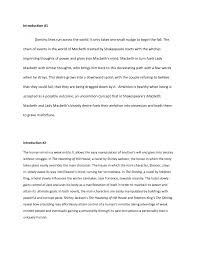 macbeth analysis essay best ideas about macbeth themes macbeth  cover letter example of a analysis essay an example of a critical cover letter example analysis