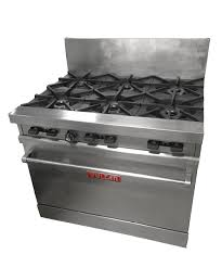 6 burner gas range16