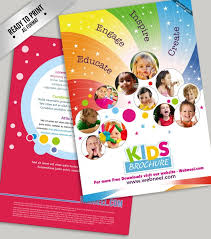 Free Education Brochure Templates 15 Free Corporate Bifold And