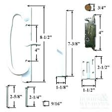 pella sliding door handle s hinged patio hardware installation instructions slider