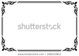 Image Fotolia Decorative Frame And Border For Design Of Greeting Card Wedding With Copy Space For Add Text Shutterstock Decorative Frame Border Design Greeting Card Stock Vector royalty