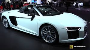 audi r8 interior automatic. Simple Interior 2017 Audi R8 V10 Spyder  Exterior And Interior Walkaround 2016 LA Auto  Show On Automatic YouTube