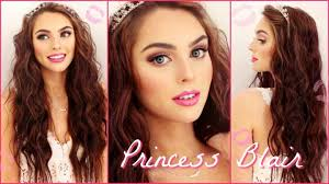 blair waldorf pink wedding makeup wavy hair tutorial gossip inspired watch video