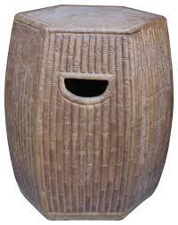 chinese hexagon bamboo theme brown