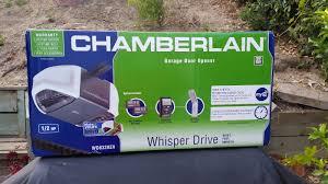 chamberlain wd832kev garage door opener hp ultra quiet belt drive operation