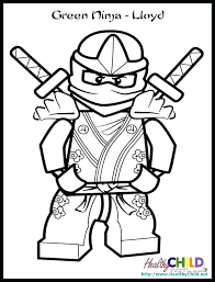 Lego Ninja Coloring Pages Ninja Coloring Pages Lego Ninjago Lloyd
