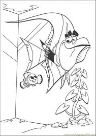 Finding Nemo Crush Colouring Pages Coloring Home