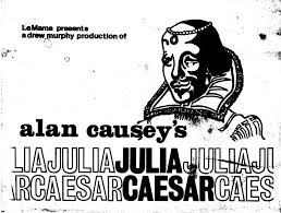 "LaMama : Document : Program: ""Julia Caesar"" (1974) [OBJ.1974.0002]"