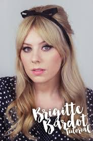 brigitte bardot 60s inspired makeup tutorial the goodowl