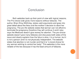 abortion pro choice essay conclusion conclusion abortion
