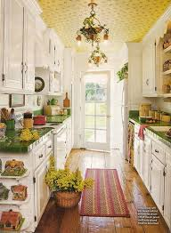 Country Galley Kitchen