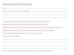 Essay Explaining How With Essay Topics Process Resume