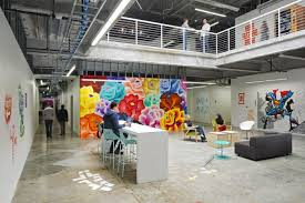 google head quarters in mountain view california atmosphere google office