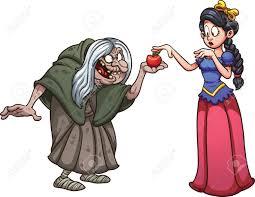 Snow White Obtenir Une Pomme D Une Vieille Sorci Re Clip Art