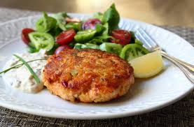salmon cakes are one of my go to emergency meals we keep a few cans of salmon in the pantry and when faced with that dreaded there s nothing in the