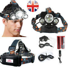 HEAD <b>Headlamp LED</b> Camping & Hiking Head Torches for sale | eBay