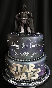 Awesome Darth Vader 40th Birthday Cake Between The Pages