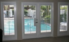patio doors with blinds between panes bellflower the com intended for french door decor 8