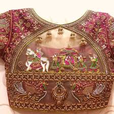 Image result for designer blouses