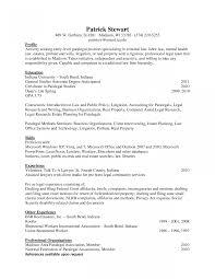 Legal Assistant Resume Cover Letter
