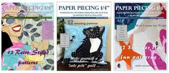 Quilt Art Designs: Magazine 1/4