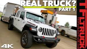 Can The New 2020 Jeep Gladiator Tow A Trailer With The Best Of Them Highway Mpg Review