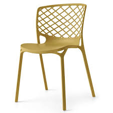 stackable resin patio chairs. Gamera Outdoor Stackable Chair Of Reinforced Nylon Mono Block In Resin Patio Chairs N