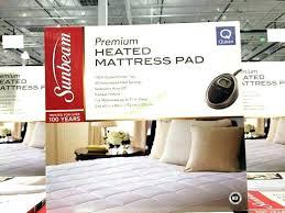 heated mattress pad costco. Fine Heated Heated Mattress Pad Costco Topper Sunbeam Premium  Cover To Heated Mattress Pad Costco E