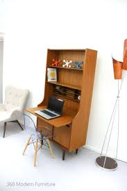 vintage office desks wood mid century teak vintage retro desk study hall table console sideboard danish