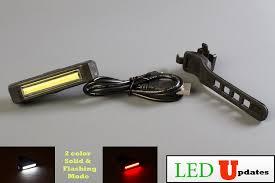Usb Helmet Light Buy Ledupdates Led Bike Light Headlight Tail Light
