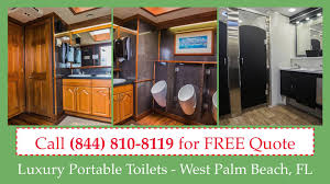 FREE Quote   Luxury Portable Toilet Rentals YouTube - Luxury portable bathrooms