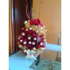 Ferrero Rocher Bouquet Designs Exotic And Classic Chocolate Bouquet Of 60 Pieces Of Ferrero Rocher Chocolates
