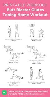 Home Gym Workout Chart Pdf Custom Pdf Workout Builder With Exercise Illustrations At