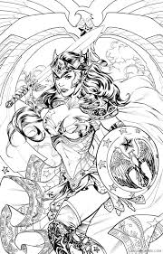 567x794 batman superman coloring page action coloring pages. Wonder Woman Coloring Pages For Adults Printable Coloring4free Coloring4free Com