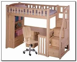 Graceful Wood Bunk Bed With Desk 1 51eAyumQHbL US500
