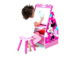 minnie mouse toddler desk large size of chair and with storage bin table set enticing drawing