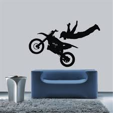 Motocross Bedroom Decor Decal Glass Picture More Detailed Picture About Motorcycle Race