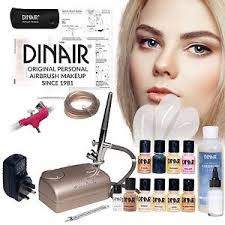 image is loading dinair personal pro airbrush makeup kit full system