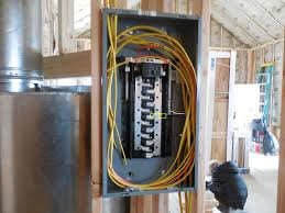 panel box wiring to generator