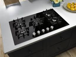 modern gas stove top. Kitchen Rug Design Ideas With Cook Top Stove Plus Stainless Oven Also Wooden Flooring For Modern Decor Gas