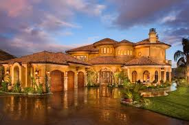 Beautiful Tuscan Style Home By John B Scholz Architect Inc