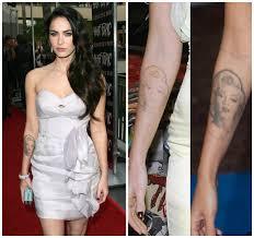 ошибки молодости от каких татуировок избавляются звёзды