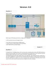 Designing Hpe Backup Solutions Ppt Hp Hpe0 J77 Hpe Backup Exam Questions Powerpoint