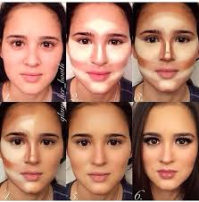 make up tutorial for contouring and highlighting