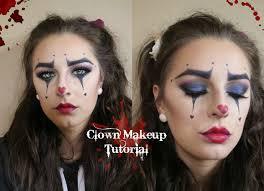 easy clown makeup ahs freak show inspired