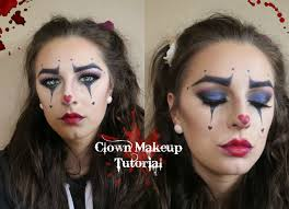 easy clown makeup ahs freak show inspired