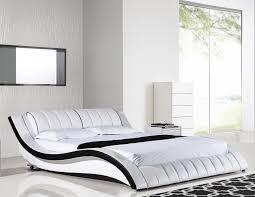 american eagle bdq modern white queen platform bed
