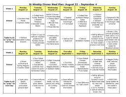 Healthy Eating Planner Quick Easy Meals Healthy Weekly Meal Plan